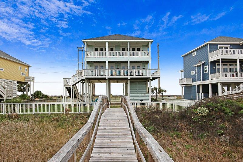 Enchanted Beachfront, alquiler vacacional en Galveston Island