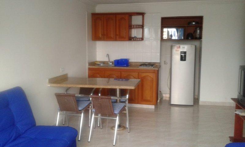 Apartamento en Cartagena Frente al Mar 1c5-7, location de vacances à Bocachica