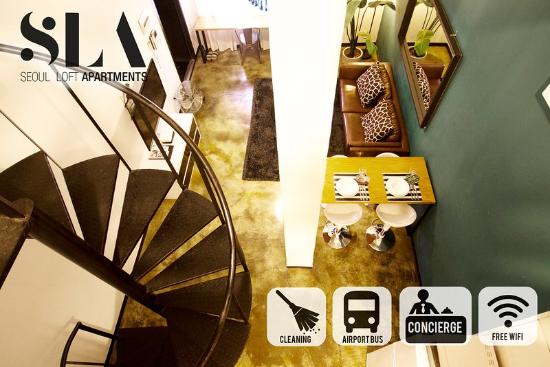 Duplex Artist loft  D303 [Dongdaemun] /SKKU/SNUH, holiday rental in South Korea