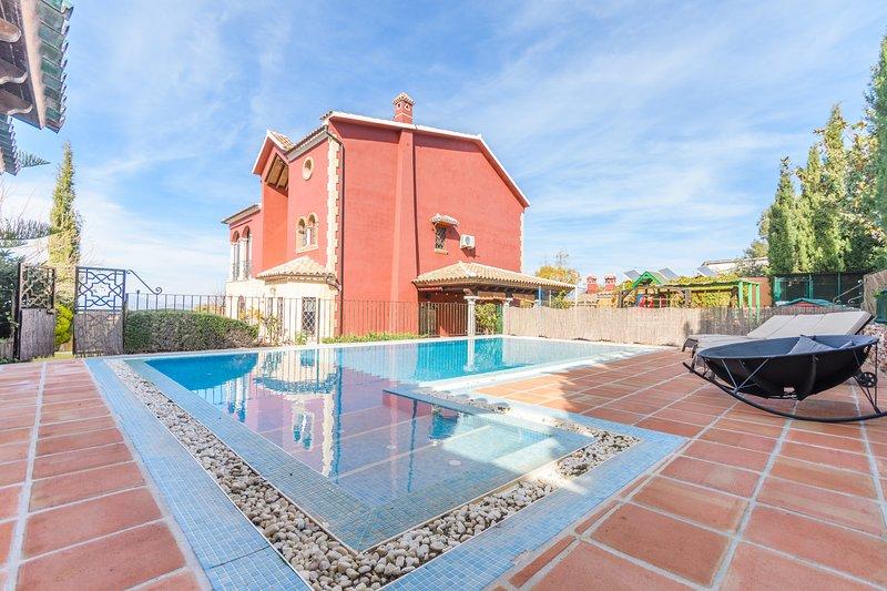 Cubo's Villa Los Azabaches, Ferienwohnung in Alhaurin el Grande