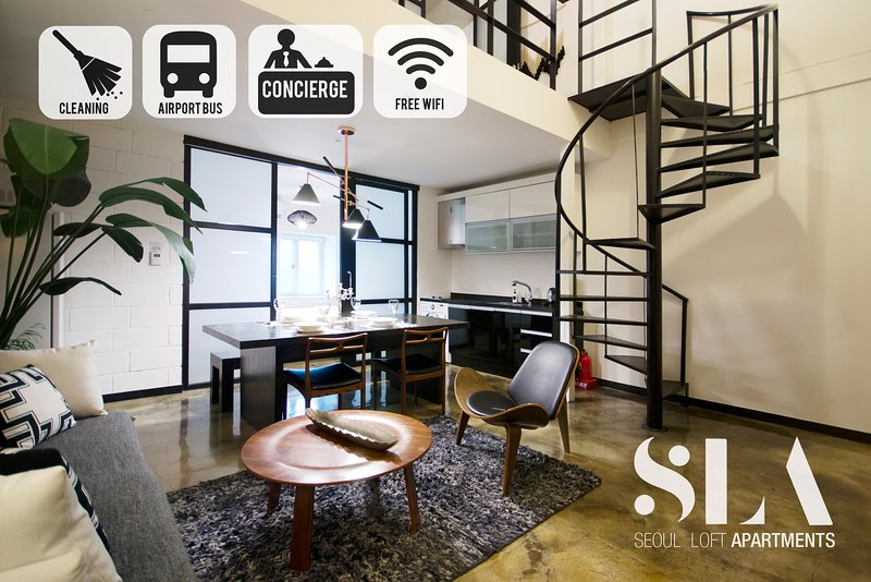 Penthouse Two Bedroom / Jongno / SNUH / SKKU, holiday rental in South Korea