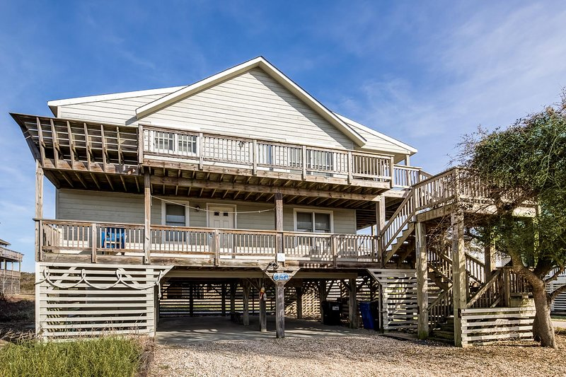Near The Edge | 95 ft from the beach | Community Pool | Duck, alquiler de vacaciones en Duck