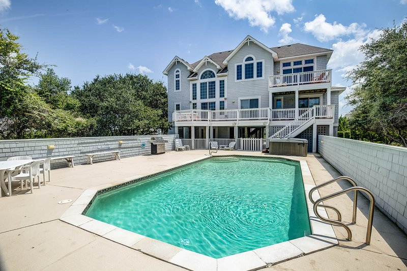 Reflections | 750 ft from the beach | Private Pool, Hot Tub | Corolla, alquiler de vacaciones en Grandy