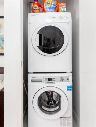 HE washer & dryer