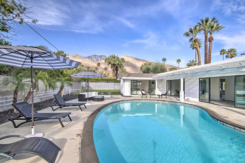 Book your stay at this Palm Springs vacation rental oasis today!
