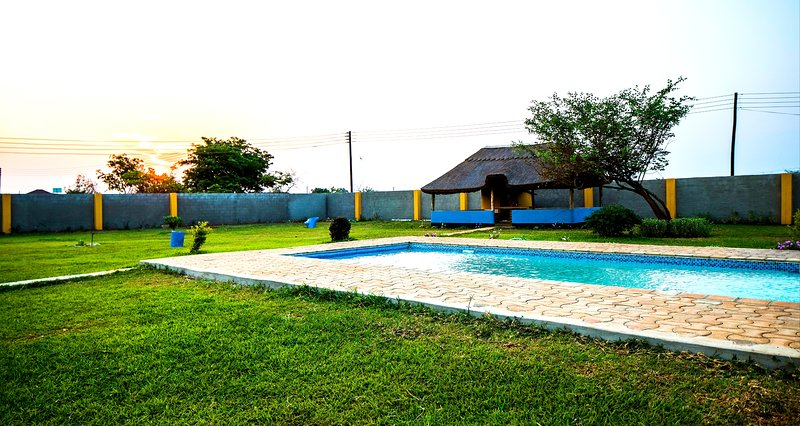 Fountain of Bliss with Pool & Chalets, vacation rental in Lusaka