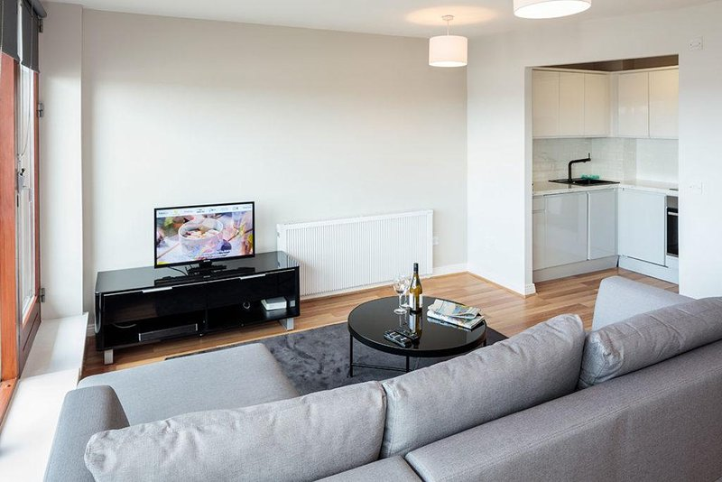 CLOSE TO IFSC-LUXURY 1BR-1BA APT IN DUBLIN-1, vacation rental in Howth