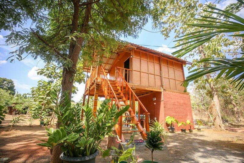 Neverbeen to Sigiriya Tree House – semesterbostad i Polonnaruwa