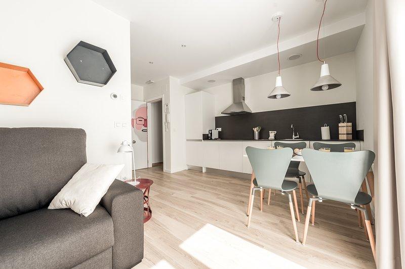 Apartamento Tematizado 202 Agustín Alegre, alquiler vacacional en Teruel