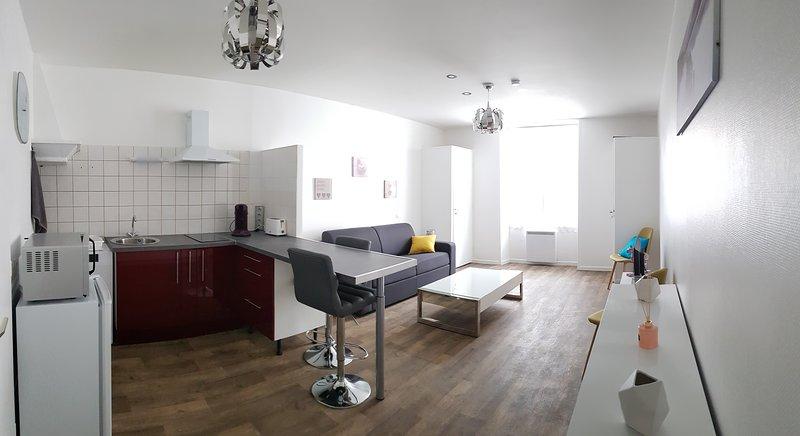 Studio meublé pour touriste, déplacement pro, vacation rental in Charente-Maritime