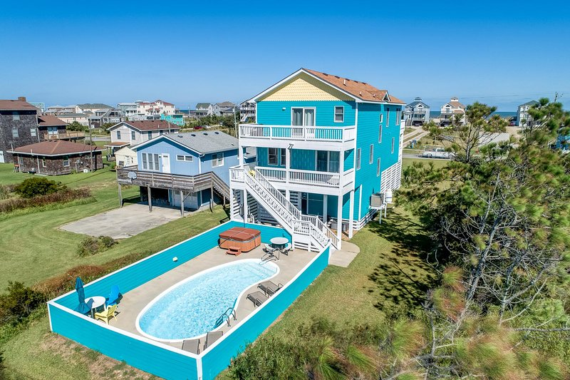 Peace Place | 345 ft from the beach | Private Pool, Hot Tub | Nags Head, location de vacances à Nags Head
