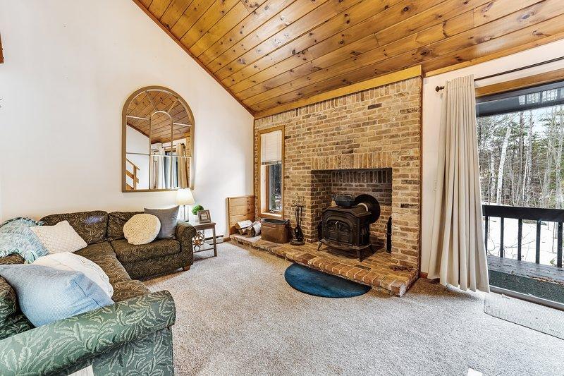 Wonderful dog-friendly home w/foosball table & patio - close to ski slopes!, location de vacances à Kearsarge
