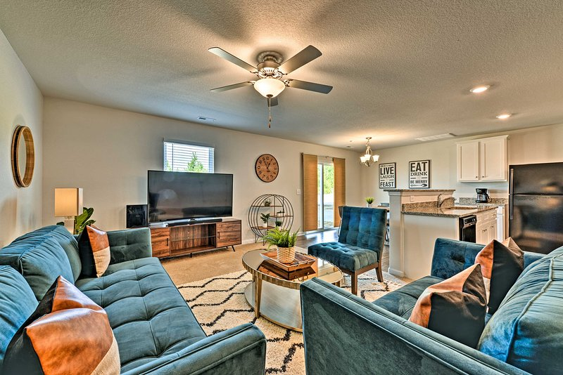Make yourself at home in this 3-bedroom, 2.5-bathroom home in Charlotte!