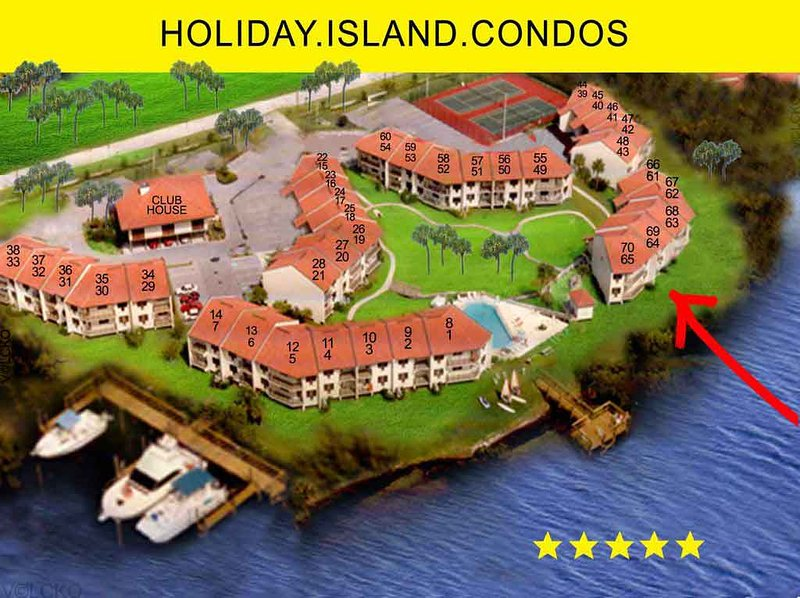 Sommer Special - Island Vacation, Family 2-6, WaterFont!, holiday rental in Tierra Verde