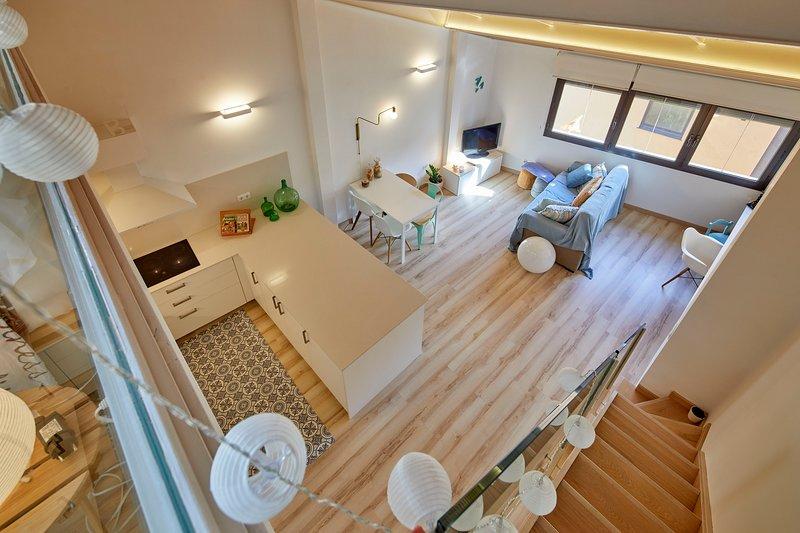 Apartamento dúplex Rei Martí, holiday rental in Canet d'Adri