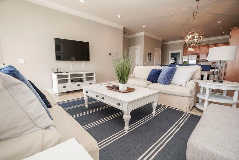 Beautifully Decorated Living Area