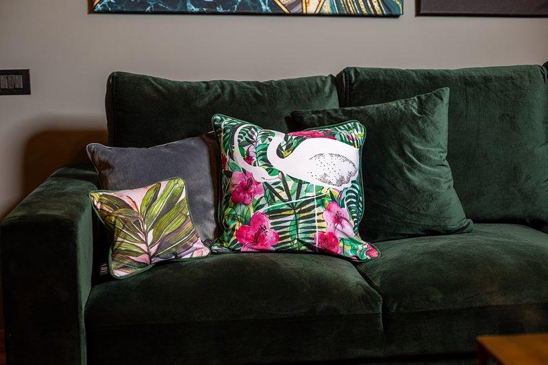 Golden Hour - One Bedroom - Comfortable Sofa.