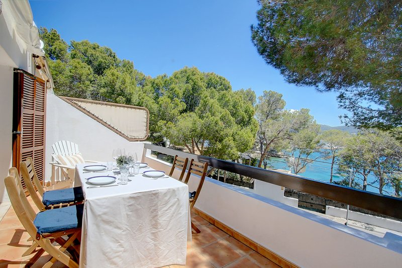 Ancla 1 House in superb location with seaview terraces, holiday rental in Sant Elm
