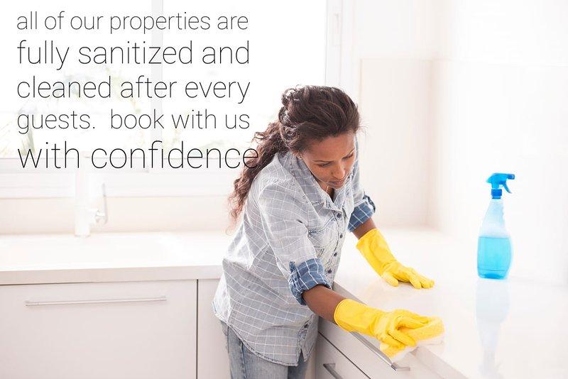 Professionalmente pulito e igienizzato
