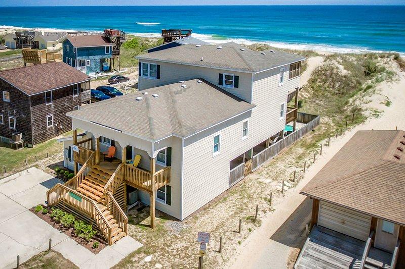Sandfiddler | Oceanfront | Dog Friendly, Private Pool, Hot Tub | Nags Head, location de vacances à Nags Head