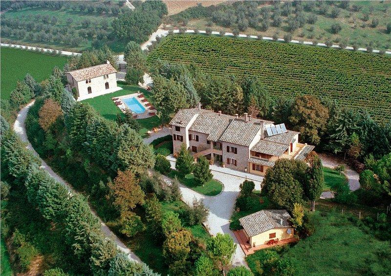 Podere Caldaruccio La Pineta - Cottage Umbertide, vacation rental in Ramazzano