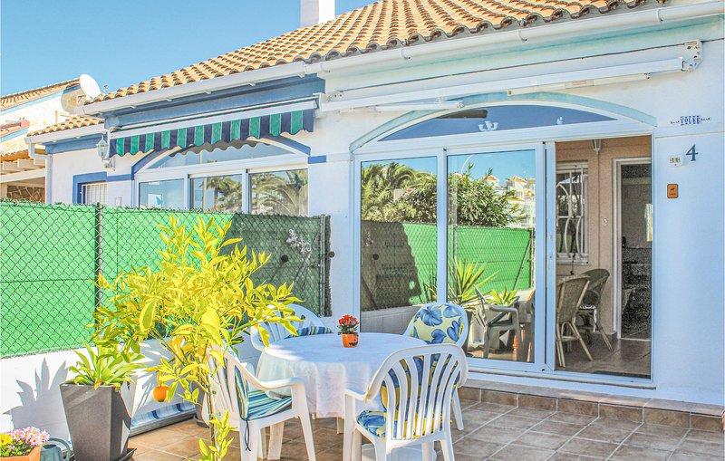 Amazing home in El Verger with 2 Bedrooms (EBL066), vakantiewoning in El Verger
