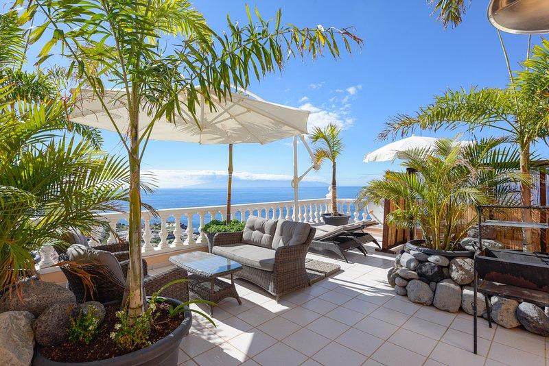 Buenavista ocean view suite, alquiler de vacaciones en Santiago del Teide