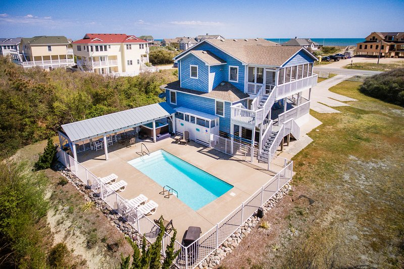 Sweetwater 49 | 311 ft from the beach | Dog Friendly, Private Pool, Hot Tub | So, vacation rental in Southern Shores