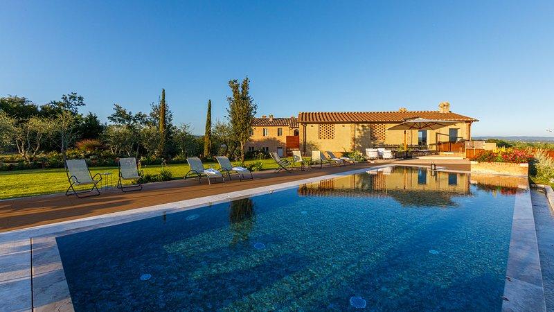 LA FONTE DI SANTA REGINA 16, Emma Villas Exclusive, casa vacanza a Taverne d'Arbia