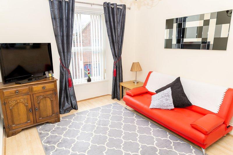 Sandgate 2-Bed Apartment in Ayr central location, location de vacances à Alloway