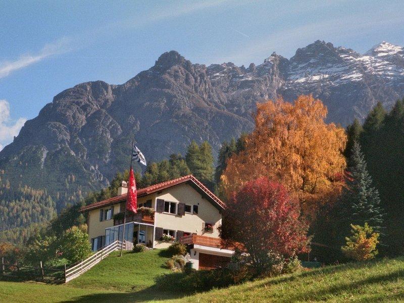 Ferienwohnung Forsthaus Falkenstein, casa vacanza a Guarda