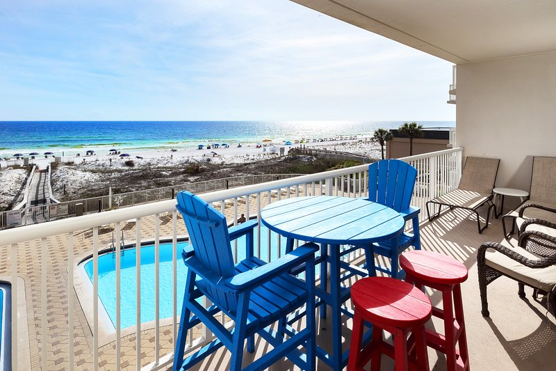 Balcony View -  Summer Place Resort, Unit 305 Okaloosa Island Fort Walton Beach Vacation Rentals