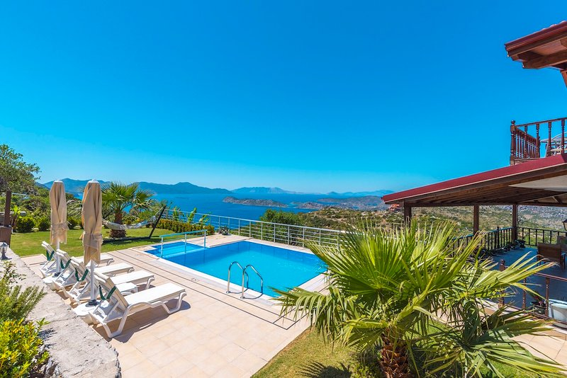 Villa Manzara Sogut Villa Daily Weekly Rentals, holiday rental in Sogut