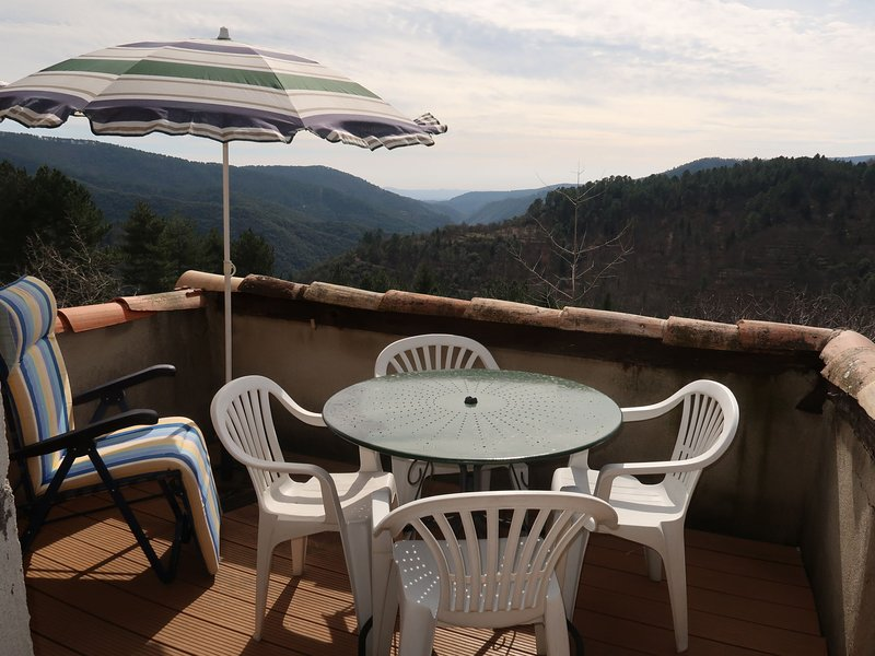 Les Hirondelles, vacation rental in Rocles