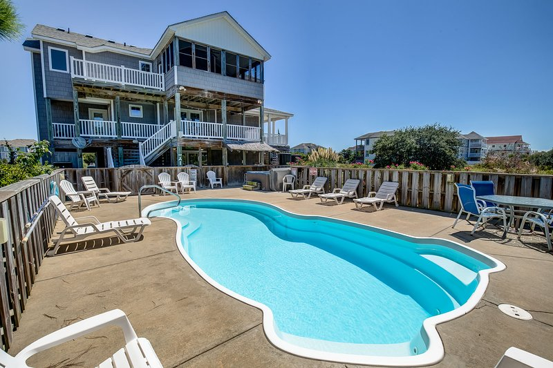 Four Sea Sons | 497 ft from the beach | Private Pool, Hot Tub | Corolla – semesterbostad i Corolla