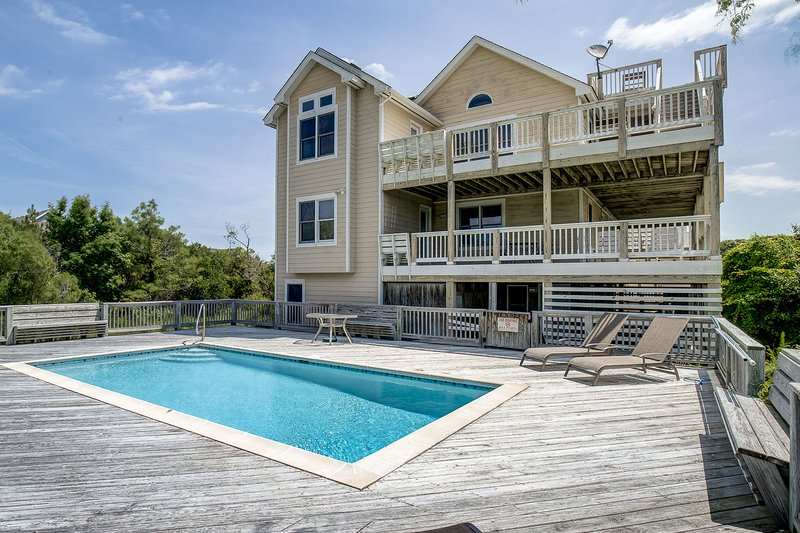 Summer Set | 925 ft from the beach | Private Pool, Hot Tub, Dog Friendly | Corol, holiday rental in Corolla