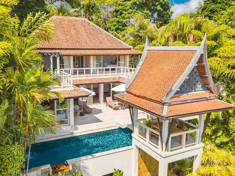 Katamanda - Baan Chaitalay, 3BR, Kata, casa vacanza a Kata Noi Beach