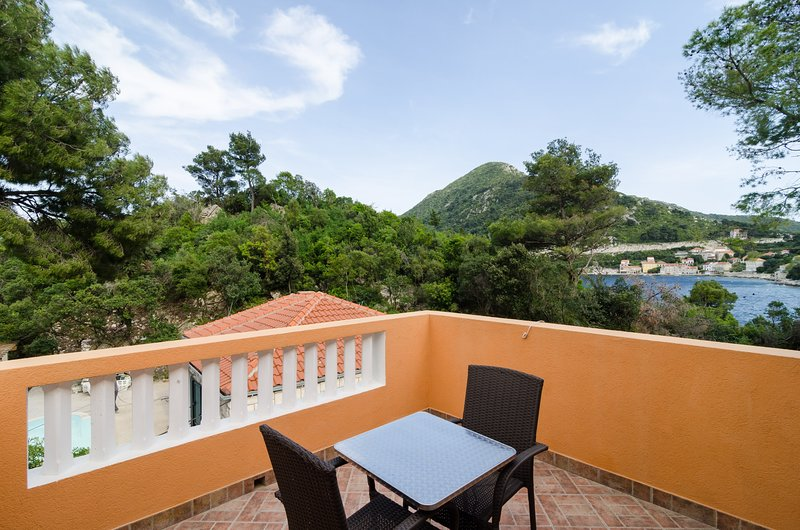 Apartments Vinko Mljet- One-Bedroom Apartment with Terrace, vacation rental in Sobra