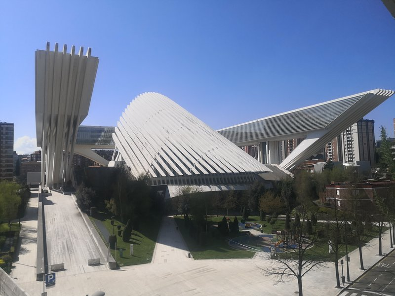 Calatrava Conference Center next to the building