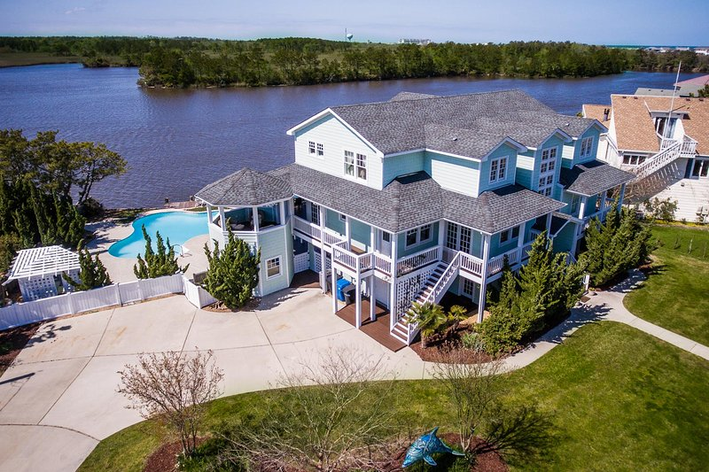 Aerial VIew of Bayside Retreat