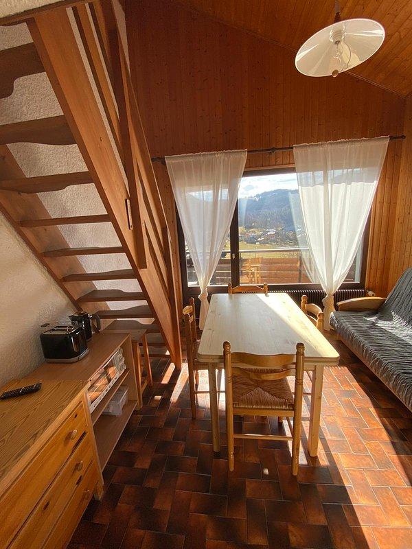 NATURE ET CALME ENTRE LE LAC LEMAN ET LA MONTAGNE, location de vacances à Thollon-les-Mémises