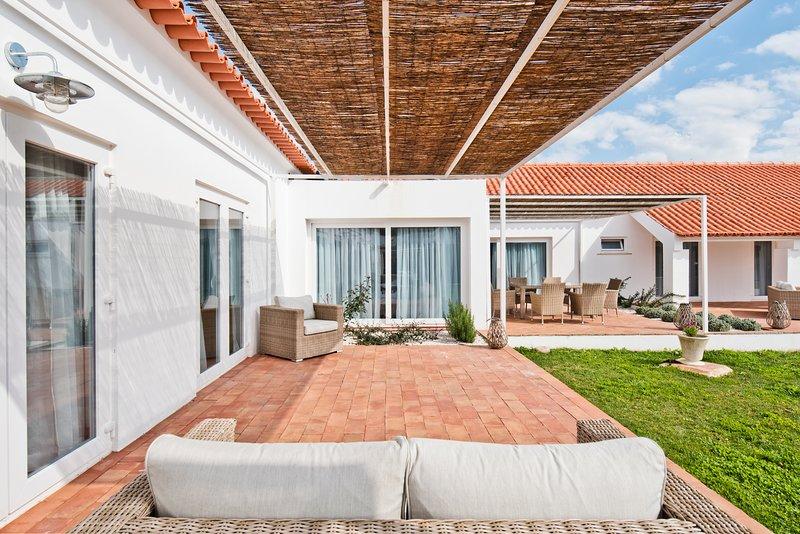 Herdade do Barrocal de Baixo, Casa com 3 quartos, location de vacances à Coruche