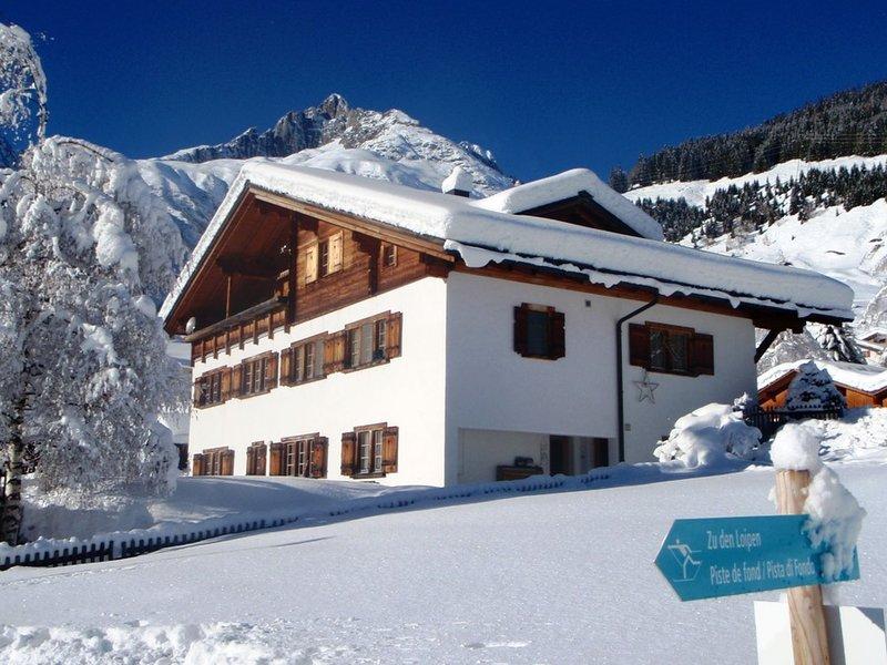 Casa Posta Berther-Roth, vacation rental in Tujetsch