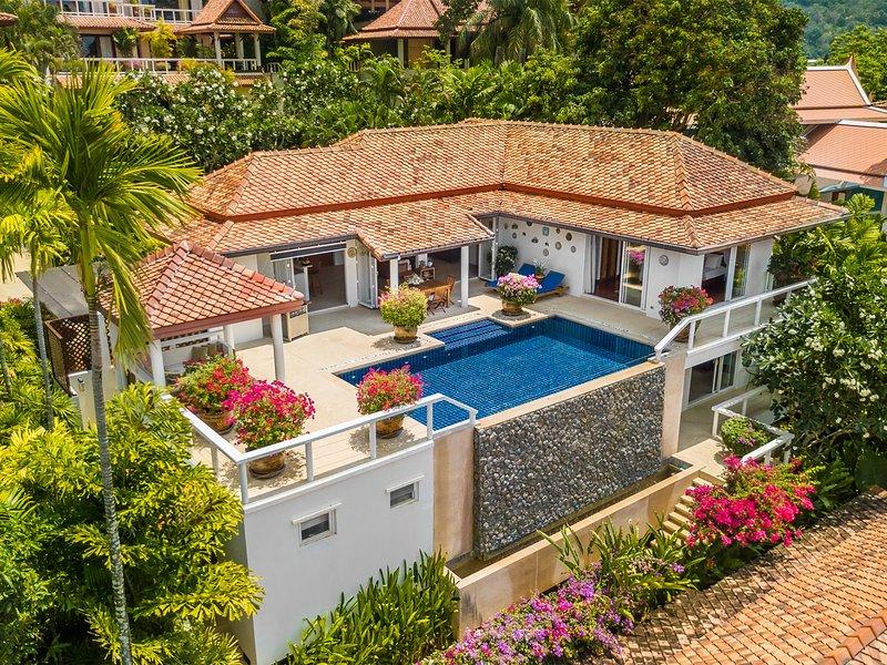Katamanda - Villa Kata Moon, 3BR, Kata, casa vacanza a Kata Noi Beach