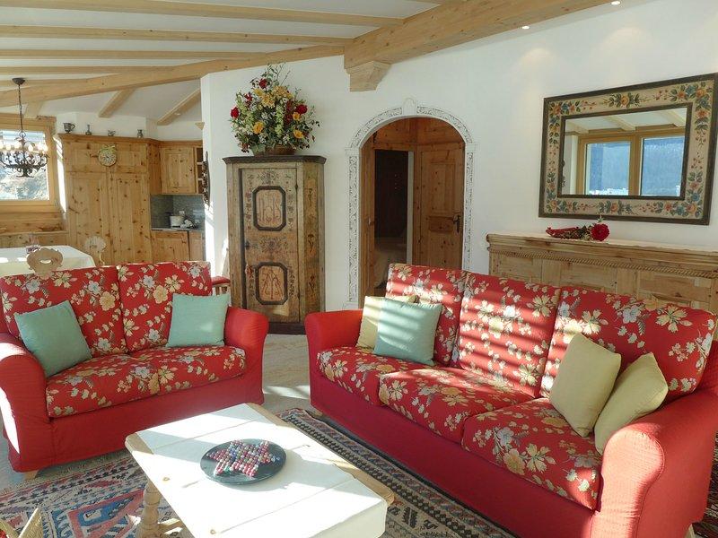 Chesa Spuonda Verde 1.7, vacation rental in St. Moritz