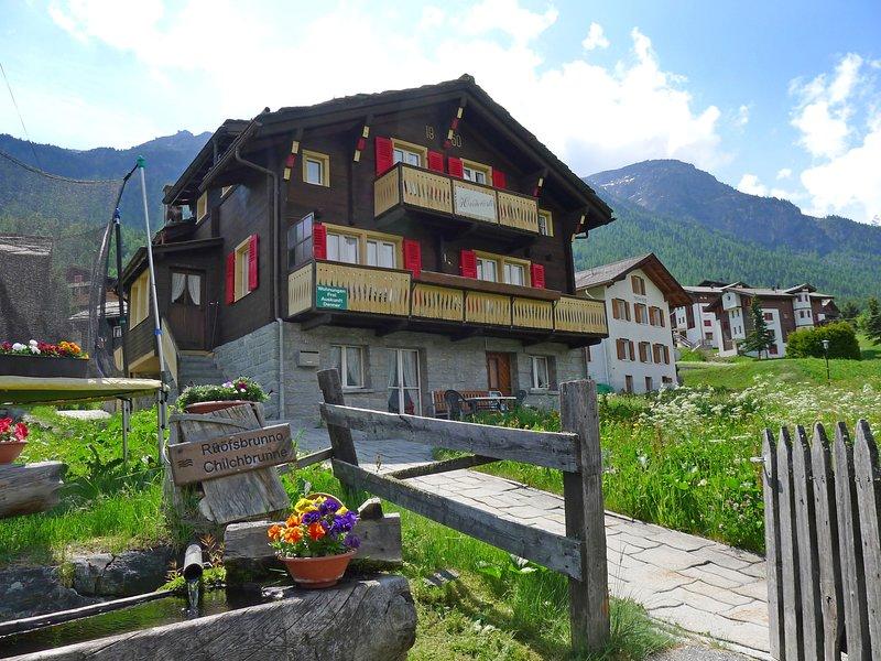 Heiderösli, location de vacances à St. Niklaus
