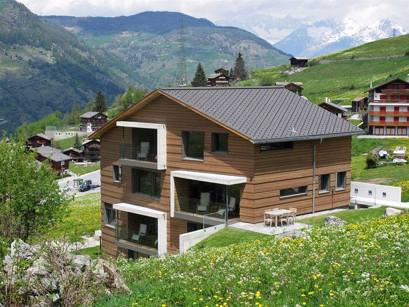 Sera Lodge, Wohnung Bietschhorn, location de vacances à Eischoll