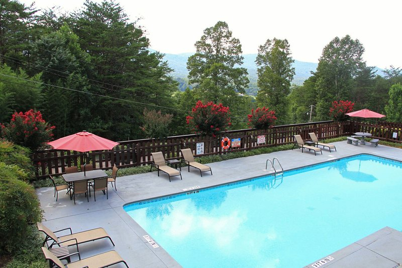 Shared saltwater pool located at Elk Lodge and available Memorial Day through Labor Day