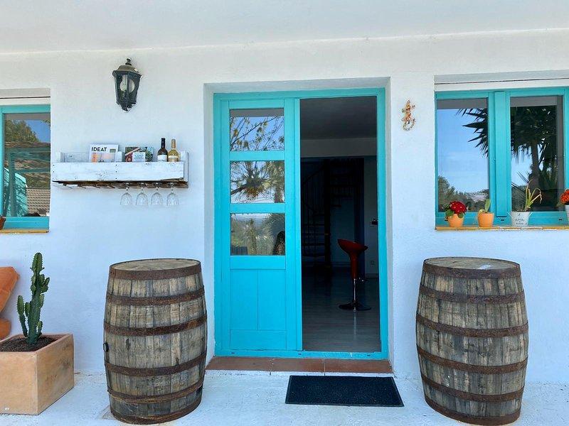 Casa turqoise, alquiler vacacional en Sant Pere de Ribes