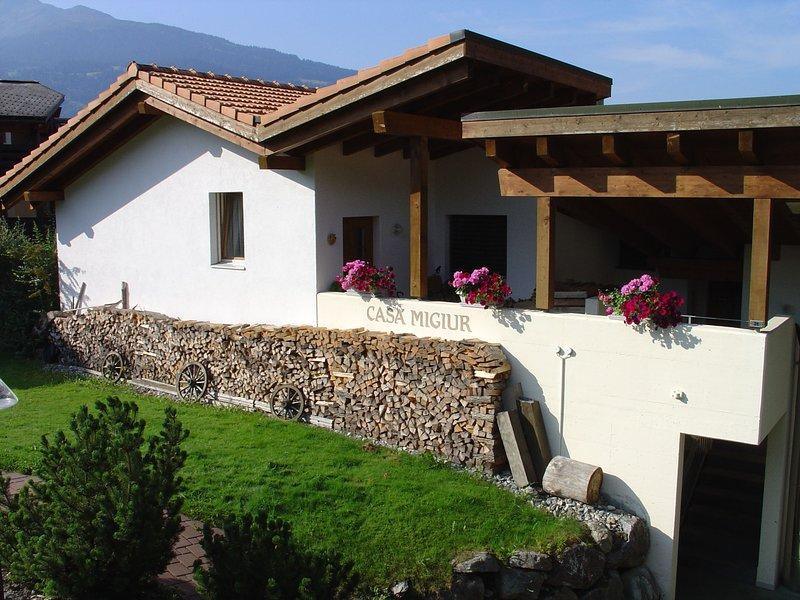 Casa Migiur, vacation rental in Laax